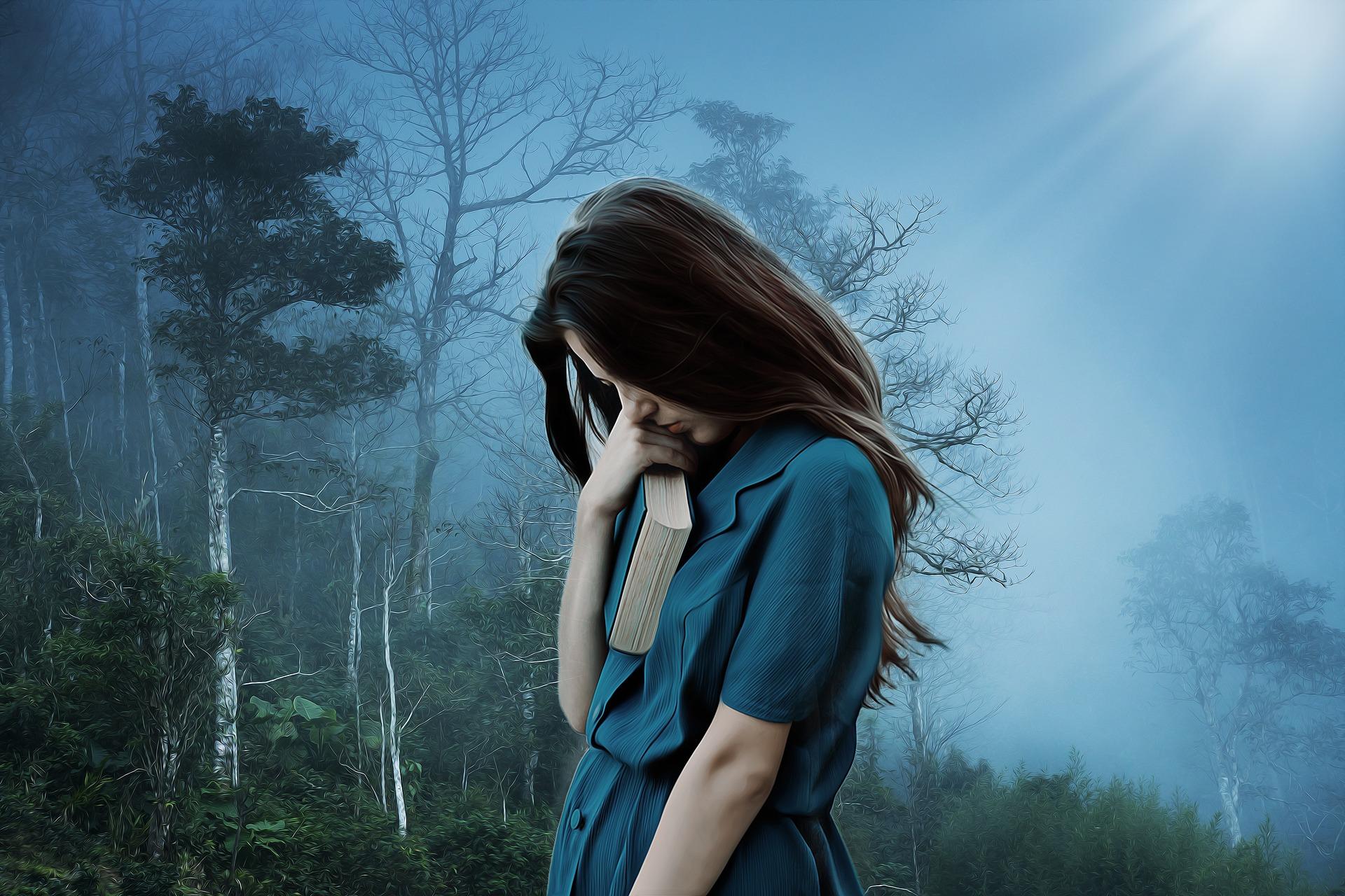 孤独な女性