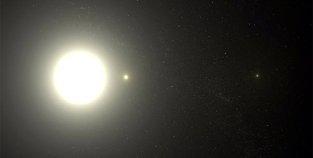 ハッブル望遠鏡から見たポラリス
